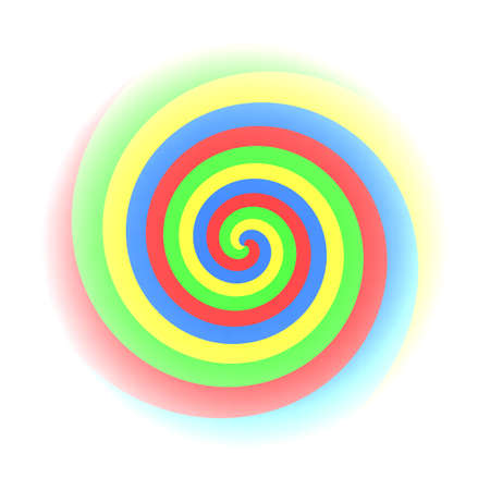colorfull: Colorfull Twirl Stock Photo