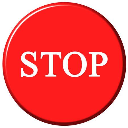 Stop Button Stock Photo - 1422589