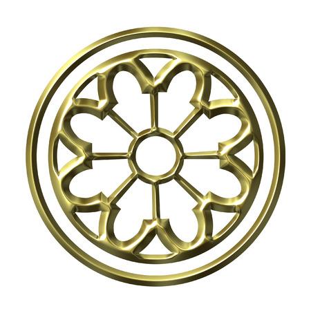 holed: 3D Golden Ornament