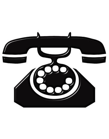 antique telephone: Antique Telephone