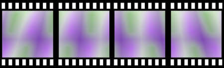 holed: Colored Film Strip