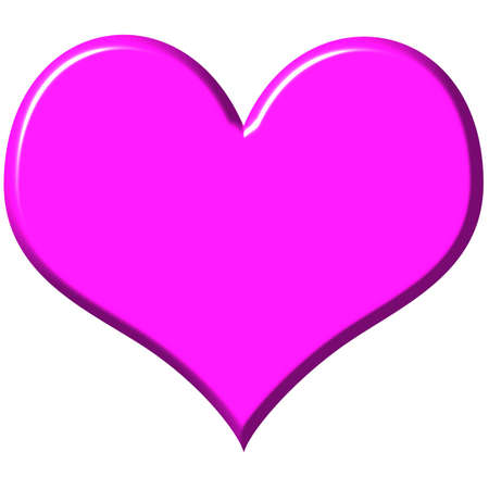 bevel: 3D Pink Heart