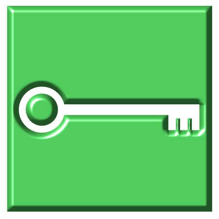 bevel: Key Button