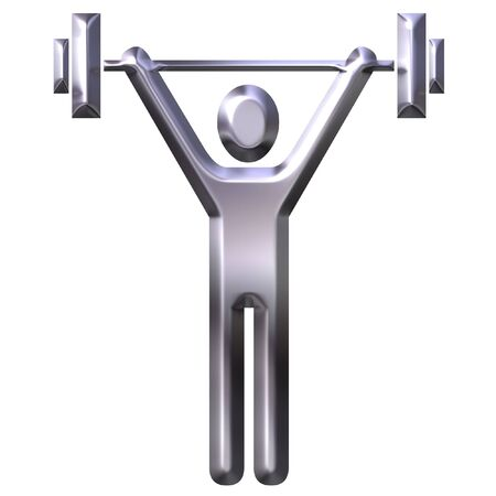 Weight Lifting  Stock Photo - 1953602