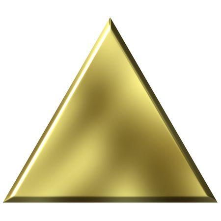 tri�ngulo: 3D Tri�ngulo de Oro