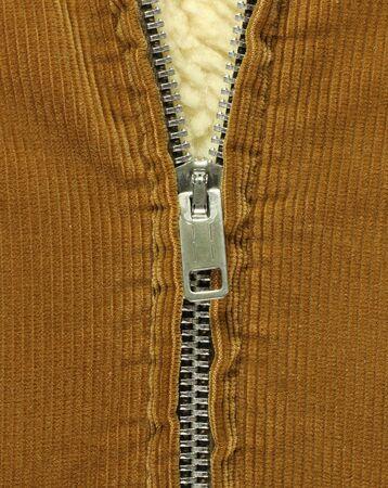 half open: Half open coat zipper