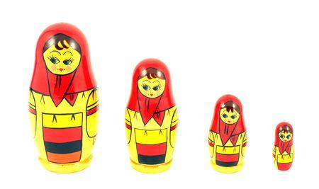 russian nested dolls: Russian nested dolls known as matryoshka