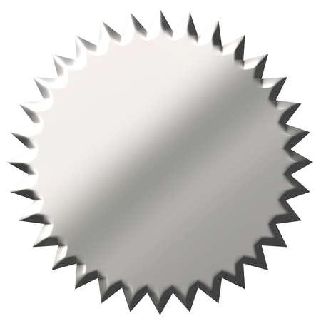 3d steel seal  photo