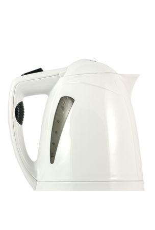 Kettle isolated in white photo
