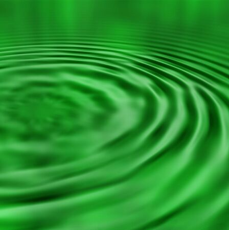 harmful: Toxic water ripples