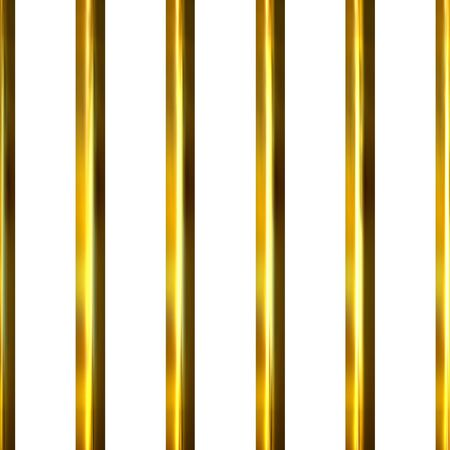 3d golden bars Stock Photo - 3143220