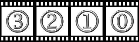 count down: Film strip count down