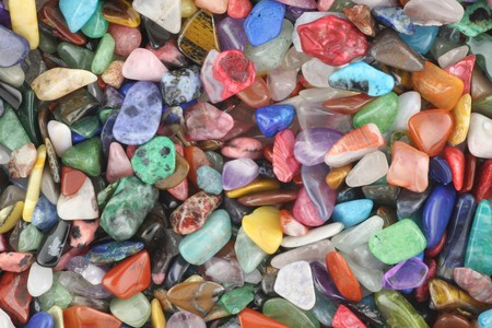 crystals: Semi precious gemstones