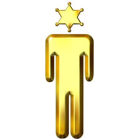 punisher: 3d golden sheriff