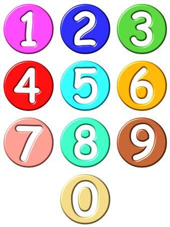 3d comic numbers