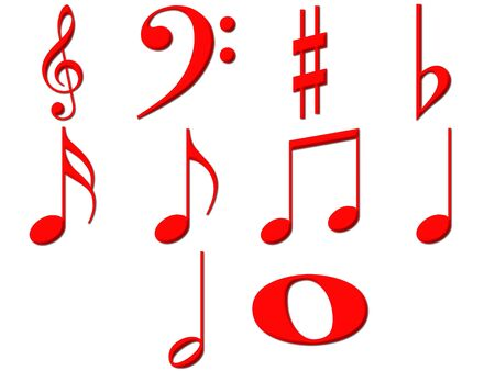 sixteenth note: 3d music notes