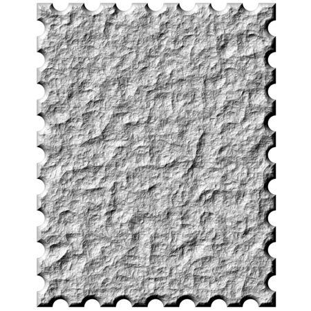 3d Stone stamp Stock fotó - 4864256
