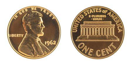 USA einen Cent Uncirculated