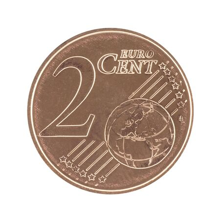 Uncirculated 2 eurocent  photo