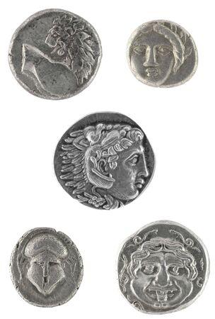 Ancient Greek coins  photo