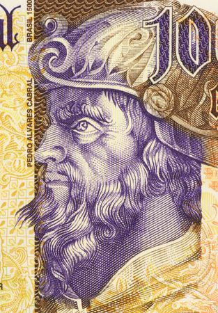 Pedro Alvares Cabral on 1000 Escudos 2000 Banknote from Portugal. Navigator and explorer. First Portuguese to set foot on Brazil. Stock Photo - 5239300