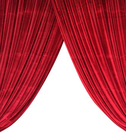 magnificence: Red curtain