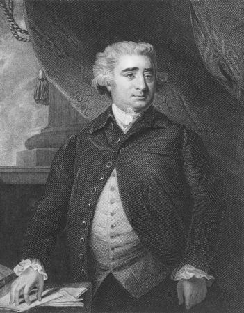 Charles James Fox on engraving from the 1850s. Prominent British Whig statesman. Stock Photo - 6221982