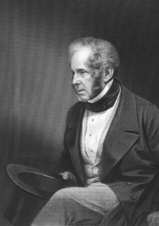 john henry: Henry John Temple, 3rd Viscount Palmerston on engraving from the 1850s. British statesman that served twice as Prime Minister of Great Birtian in the mid 19th century.