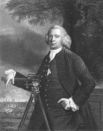 James Brindley on engraving from the 1850s. One of the most notable engineers of the 18th century. Stock Photo - 6222001