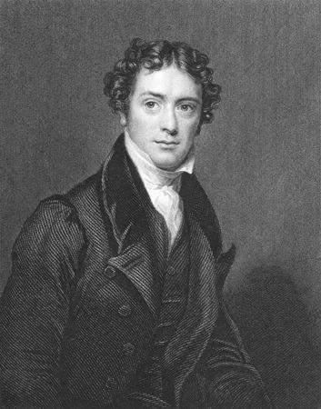 michele: Michael Faraday incisione dal 1850. Inglese, chimico e fisico che hanno contribuito ai campi di elettromagnetismo ed elettrochimica. Editoriali