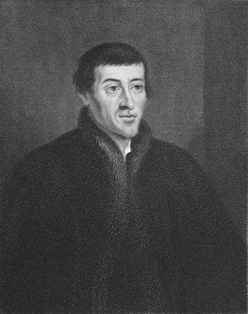 Nicolaus Copernicus auf Stich aus den 1850er Jahren. Erster Astronom eine wissenschaftlich fundierte heliozentrische Kosmologie zu formulieren, die die Erde aus der Mitte des Universums verdr�ngt.