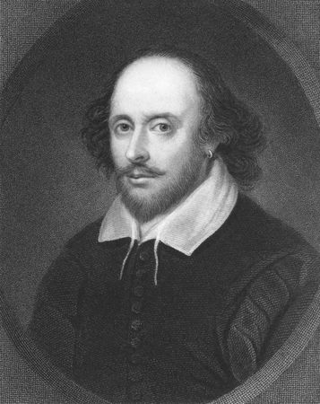 english famous: William Shakespeare on engraving from the 1850s. English poet and playwright, widely regarded as the greatest writer in the English language.