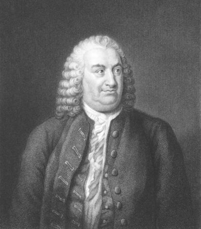 Albrecht von Haller (1708-1777) on engraving from the 1800s. Swiss anatomist, physiologist, naturalist and poet. Engraved by W.Holl and published in London by Fisher, Son & Co in 1838. Stock Photo - 8510616