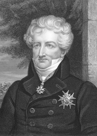 georges: Georges Cuvier (1769-1832) on engraving from the 1800s. French naturalist and zoologist. Engraved by J.Thomson and published in London by W.Mackenzie.
