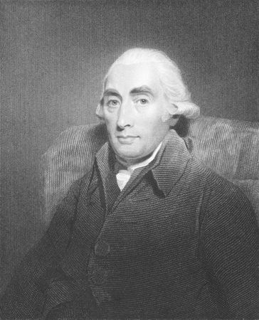 latent: Joseph Black (1728-1799) on engraving from the 1800s. Scottish physician best known for his discoveries of latent heat, specific heat and carbon dioxide. Engraved by J.Pofselwhite from a picture by Raeburn and published in London by Charles Knight, Ludgat
