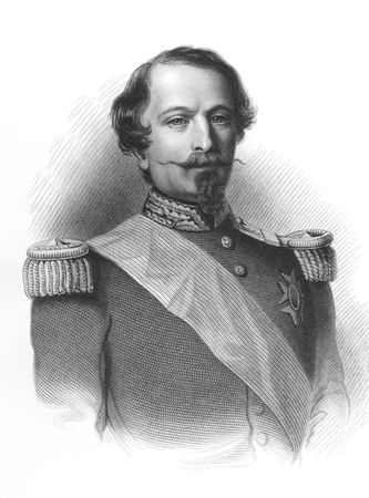 napoleon i: Napoleon III aka Louis Napoleon Bonaparte (1808-1873) on engraving from the 1800s. President of the French Second Republic and ruler of the Second French Empire. Nephew of Napoleon I. Published by Virtue in London.