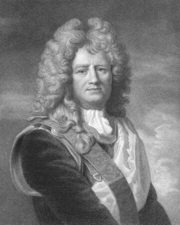 foremost: Vauban (1633-1707) on engraving from the 1800s. Marshal of France and the foremost military engineer of his age. Engraved by W.T.Fry from a picture by Lebrun and published in London by Charles Knight, Ludgate Street. Editorial