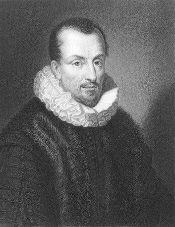 thou: Jacques Auguste de Thou (1553-1617) on engraving from the 1800s. French historian. Engraved by W.Holl from a picture by Ferdinand and published in London by Charles Knight, Ludgate Street. Editorial