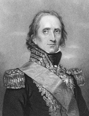 statesman: Jean-de-Dieu Soult (1769-1851) on engraving from the 1800s. French general and statesman, named Marshal of the Empire in 1804. Engraved by W.H.Mote after a drawing by Rouillard and published in London Fisher, Son & Co.