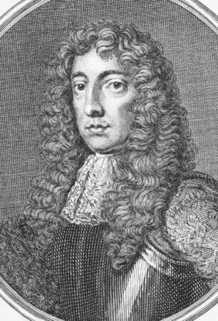 shaftesbury: Ashley Cooper, 1st Earl of Shaftesbury (1621-1683) on engraving from the 1800s. English politician best known as the patron of John Locke. Engraved by Benoist in 1700s.   Editorial