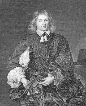cary: Lucius Cary, 2nd Viscount Falkland (1610-1643) on engraving from the 1800s. English politician, soldier and author. Engraved by HT.Ryall after a painting by VanDyke and published by J.Tallis & Co, London & New York.