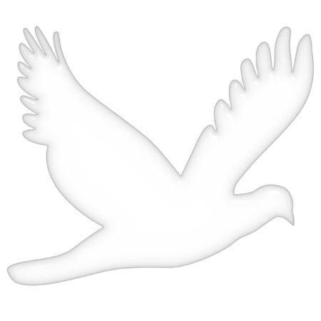 3d dove  photo