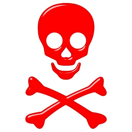3d skull and crossbones  Stock Photo - 7248084