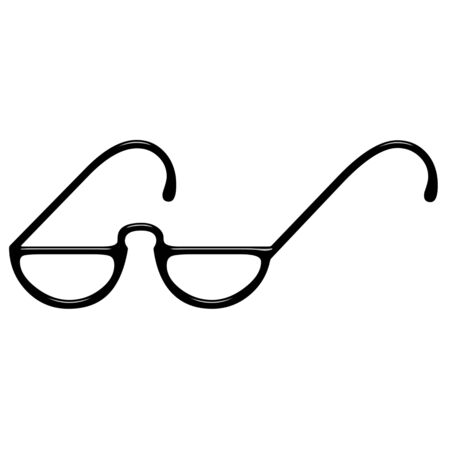 3d eyeglasses  photo
