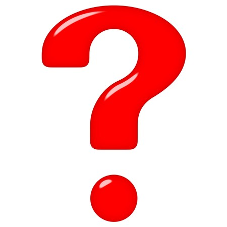 3d question mark Stock Photo - 7262239