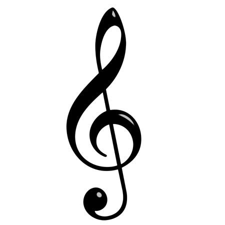conceptual symbol: 3d Treble Clef