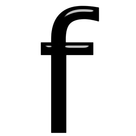 alphabetic: 3d letter f