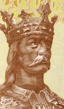 leu: Stefano III di Moldavia (1432-1504) sulle banconote 1 leu 2006 dalla Moldavia. Principe della Moldavia nel 1457-1504 e il rappresentante pi� prominente della casa di Musat.