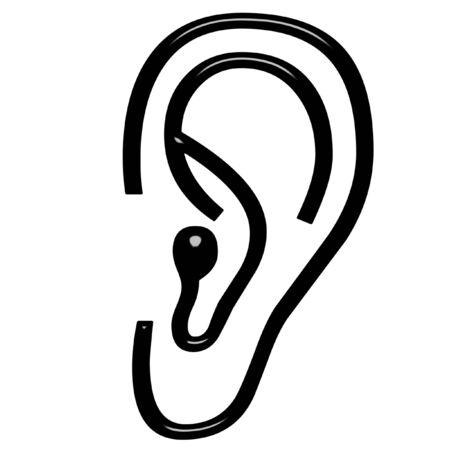 lobe: 3d ear