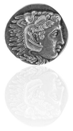 Alexander the Great Ancient Greek Tetradrachm 315 BC  photo